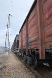 Goods train Royalty Free Stock Images