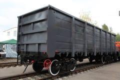 Goods wagon. The image of a goods wagon Stock Photos