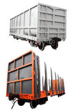 Goods wagon Stock Images