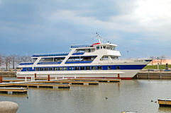 Goodtime ll lake tour boat. Image of the goodtime ll lake tour boat in Cleveland Ohio Stock Image