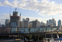 Goodwill-Brücke, Brisbane Stockfotografie