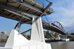 Goodwill-Brücke - Brisbane Australien Stockfoto