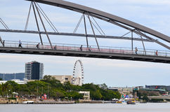 Goodwill Bridge - Brisbane Australia Royalty Free Stock Image