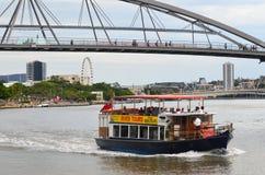 Goodwill Bridge - Brisbane Australia Stock Photo
