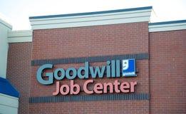 Goodwill Job Center Royalty Free Stock Photo