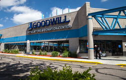 Goodwill Store in Colorado Royalty Free Stock Images