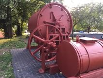 Goodwin Ball Mill a Etruria Immagine Stock Libera da Diritti