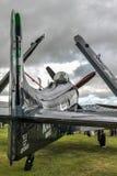 GOODWOOD, ΔΥΣΗ SUSSEX/UK - 14 ΣΕΠΤΕΜΒΡΊΟΥ: Πάρκο Ντάγκλας Skyraider Στοκ Φωτογραφίες