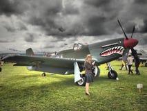 Goodwood Airshows - возрождение и фестиваль скорости 2018 стоковые изображения rf