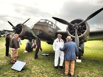 Goodwood Airshows - возрождение и фестиваль скорости 2018 стоковое фото