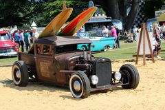 Goodwood-Festival der Geschwindigkeit Stockbild
