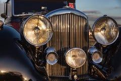 GOODWOOD, SUSSEX/UK DEL OESTE - 14 DE SEPTIEMBRE: Primer del frente Imagen de archivo libre de regalías