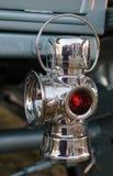 GOODWOOD, SUSSEX/UK OCIDENTAL - 14 DE SETEMBRO: Lâmpada traseira do close-up sobre fotos de stock