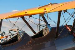 GOODWOOD, WEST-SUSSEX/UK - 14. SEPTEMBER: Cockpit von einem Boei 1942 lizenzfreies stockfoto