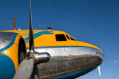 GOODWOOD, WEST SUSSEX/UK - SEPTEMBER 14 : DC3 at the Goodwood Re Stock Photo