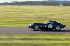 GOODWOOD, WEST SUSSEX/UK - SEPTEMBER 14 : Vintage Racing at Good stock photos
