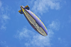 Goodyear Blimp Spirit of America in Flight Royalty Free Stock Images