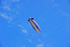 Goodyear Blimp Spirit of America in Flight Royalty Free Stock Photo