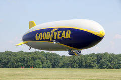 The Goodyear Zeppelin NT Stock Images