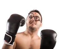 Goofy boxer Stock Photo
