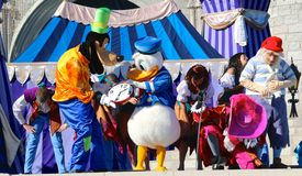 Goofy and Donald duck at Disneyworld Royalty Free Stock Photos