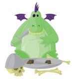 Goofy Dragon Royalty Free Stock Photos