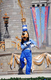 Goofy en monde de Disney Photo libre de droits