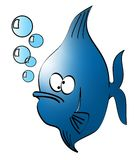 Goofy fish Stock Images