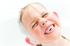Goofy Gummy Girl Royalty Free Stock Images