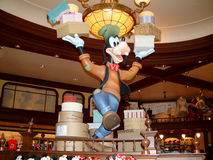 Goofy. Hong Kong Circa September 2010. A Goofy display figure in one of the many Disney shops in Hong Kong Disney Stock Photos