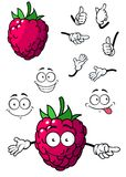 Goofy little cartoon raspberry Stock Images