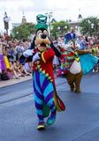 Disney World Orlando Florida Magic Kingdom Parade goofy Stock Photography