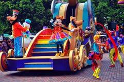 Goofy, Pluton, canard de Donald et souris de minnie images stock