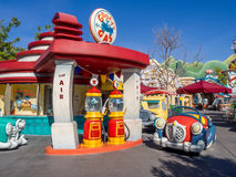 Goofy's Gas  in Toontown, Disneyland Royalty Free Stock Photos