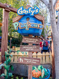 Goofy's Playhouse in Toontown, Disneyland Stock Photography