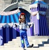 Goofy on stage at Disneyworld Stock Photo