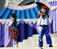 Goofy on stage at Disneyworld Stock Photos