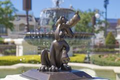 Disney World Orlando Florida Magic Kingdom  goofy Royalty Free Stock Image