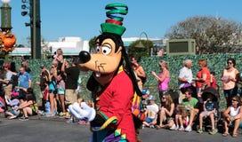 Goofy in a street parade at Disneyworld Royalty Free Stock Images
