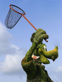 Goofy Topiary Stock Photo