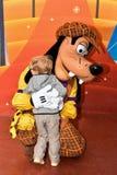 Goofy at Walt Disney Studios Park royalty free stock photo