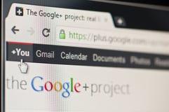 google加上 免版税库存照片