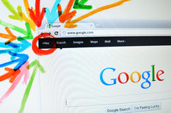 google加上 库存照片