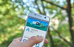 Google αρρενωπό αυτόματο app Στοκ εικόνα με δικαίωμα ελεύθερης χρήσης
