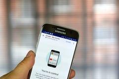 Google η δραστηριότητά μου App Στοκ εικόνα με δικαίωμα ελεύθερης χρήσης