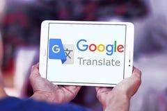 Google переводит логотип Стоковые Изображения