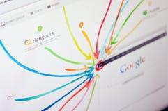 google плюс Стоковое Фото