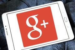 Google плюс логотип Стоковое Фото