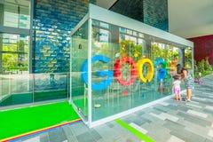 Τουρισμός της Σιγκαπούρης Google στοκ φωτογραφία με δικαίωμα ελεύθερης χρήσης