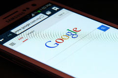 Google Fotografia Stock